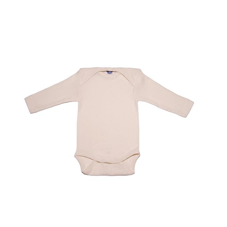 Cosilana Baby-Body 1/1 Arm natur 45% Baumwolle/35% Wolle/20%Seide