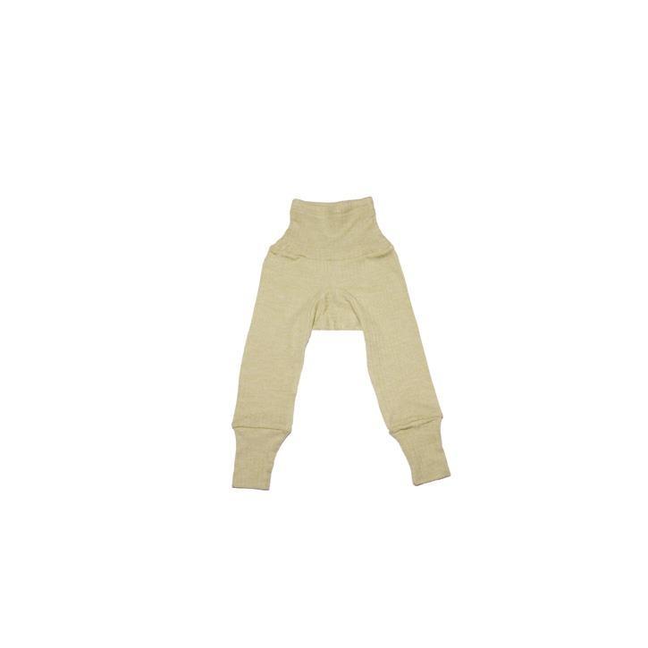 Cosilana Baby - Hose mit Bund grün uni 45% Baumwolle/35% Wolle/20%Seide