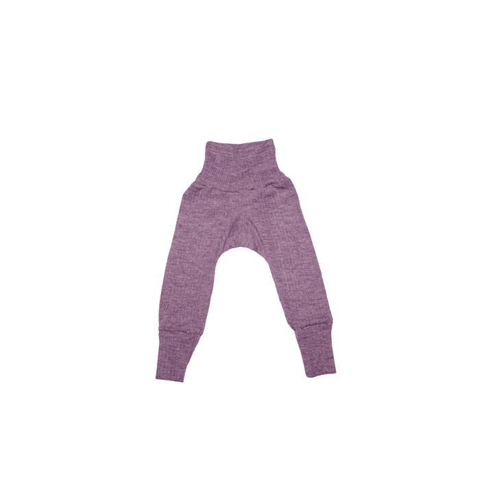 Cosilana Baby - Hose mit Bund pflaume  45% Baumwolle/35% Wolle/20%Seide