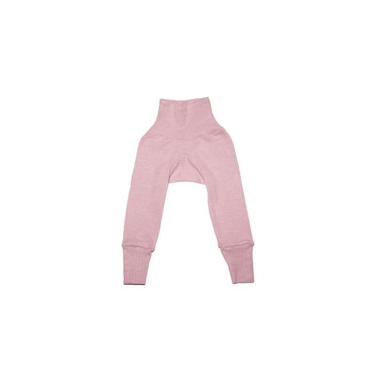 Cosilana Baby - Hose mit Bund pink meliert  45% Baumwolle/35% Wolle/20%Seide