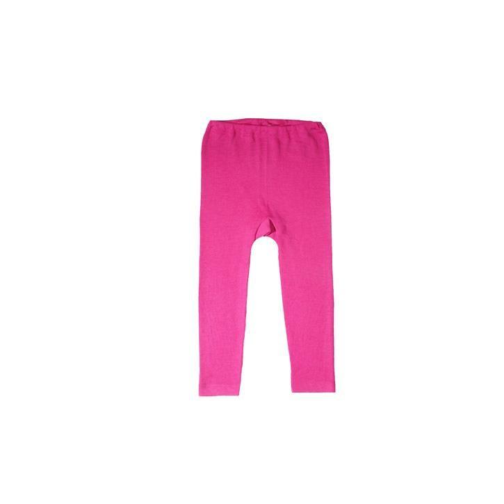 Cosilana Kinder Leggings pink uni 70% Merinoschurwolle / 30% Seide