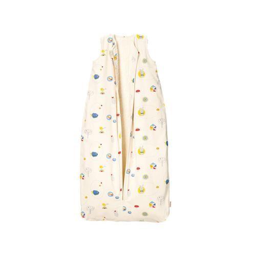 Cotonea Kinder-Schlafsack mit Plüschfutter / Gr. 110 / Meister Hase