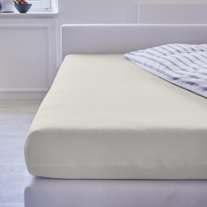 Cotonea Spannbezug Jersey / 35x75cm - 40x80cm / Natur