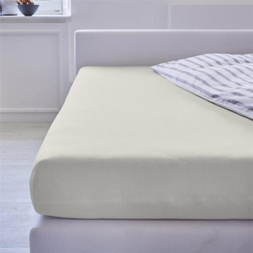 Cotonea Spannbezug Jersey / 40x90cm - 45x95cm / Natur