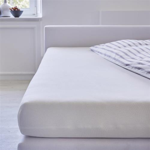 Cotonea Spannbezug Jersey / 60x120cm - 70x140cm / Weiß