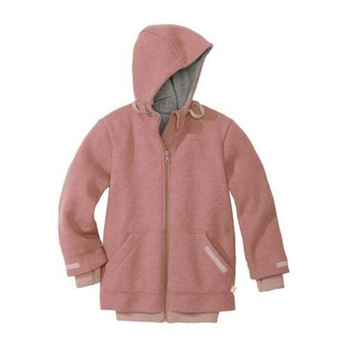 Disana Outdoor-Jacke rose 100% bio-Schurwolle/ Futter 100% bio-Baumwolle