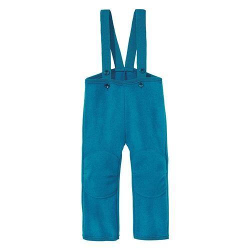 Disana Walk-Hose 74/80 blau 100% bio-Schurwolle