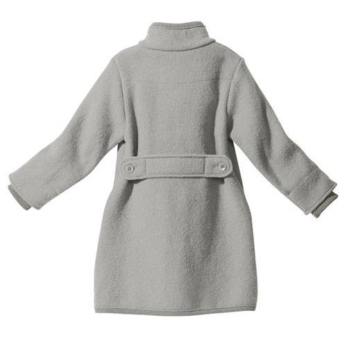 Disana Walk-Mantel grau 100% bio-Schurwolle/ Futter 100% bio-Baumwolle