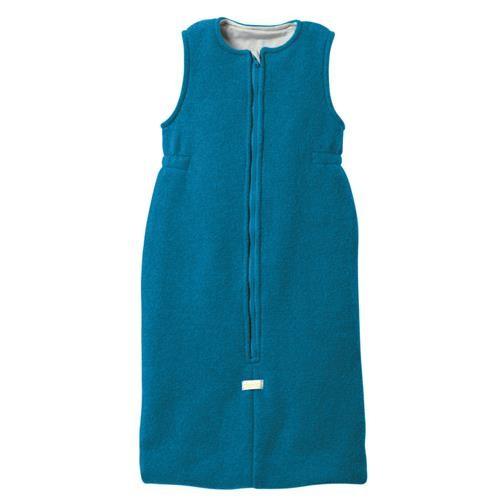 Disana Walk-Schlafsack 3 blau 100% bio-Schurwolle/ Futter 100% bio-Baumwolle