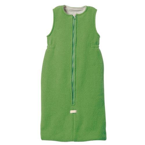 Disana Walk-Schlafsack 3 grün 100% bio-Schurwolle/ Futter 100% bio-Baumwolle