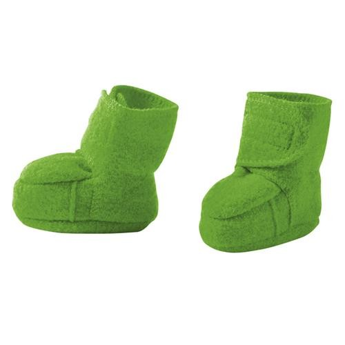 Disana Walk-Schuhe grün 100% bio-Schurwolle