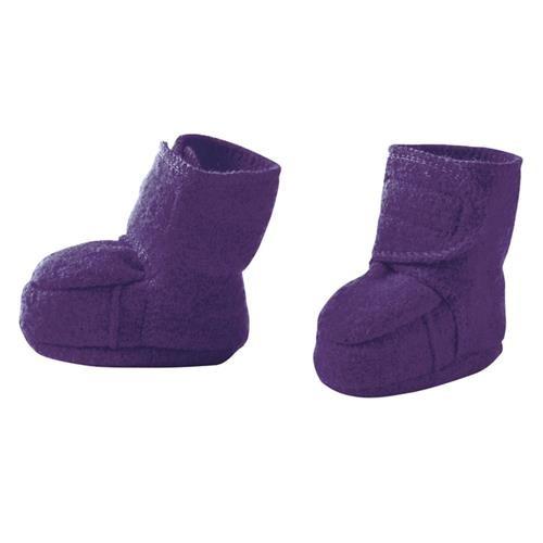 Disana Walk-Schuhe pflaume 100% bio-Schurwolle