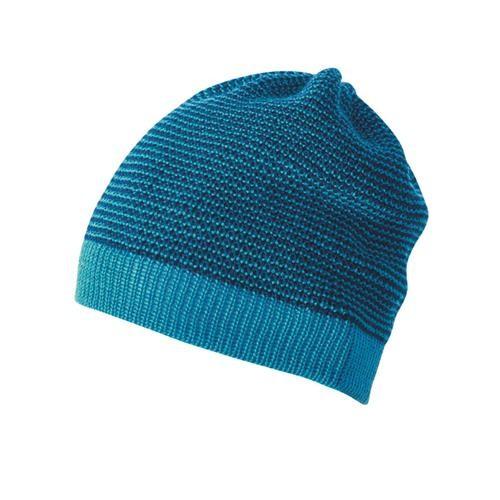 Disana Beanie 1 blau-marine 100% bio-Schurwolle