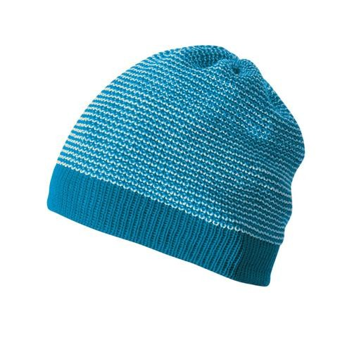 Disana Beanie 1 blau-natur 100% bio-Schurwolle