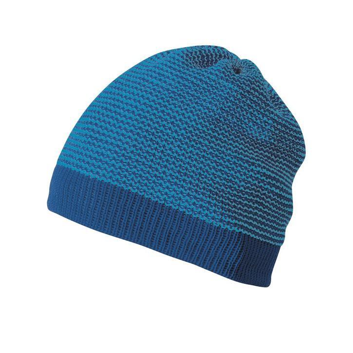Disana Beanie marine/blau 100% kbT Schurwolle