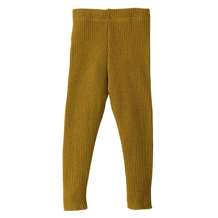 Disana Leggings gold 110/116 100% kbT Schurwolle