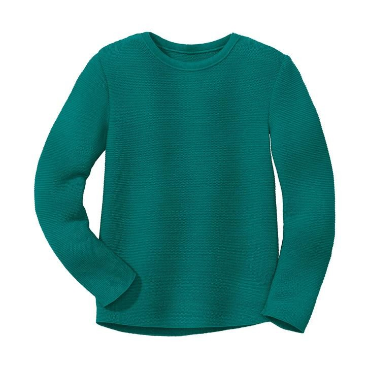 Disana Linksstrick-Pullover pacific