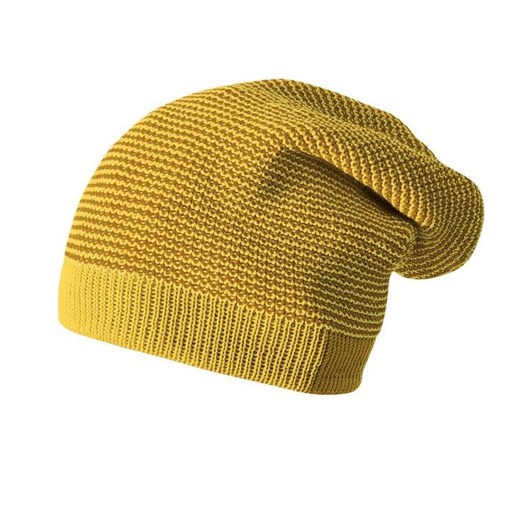Disana Longbeanie curry/gold 03 100% kbT Schurwolle