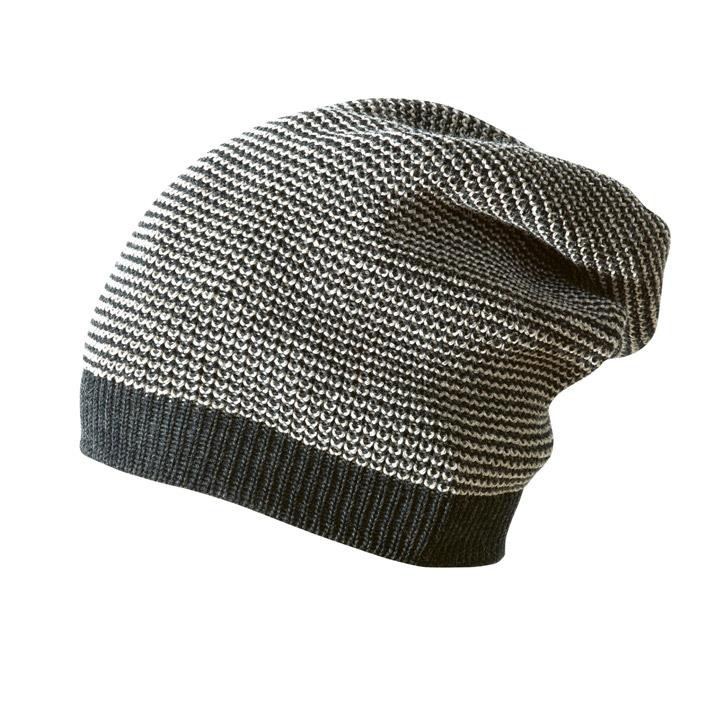 Disana Long-Beanie Kollektion 18/19, 3 anthrazit-grau 100% bio-Schurwolle