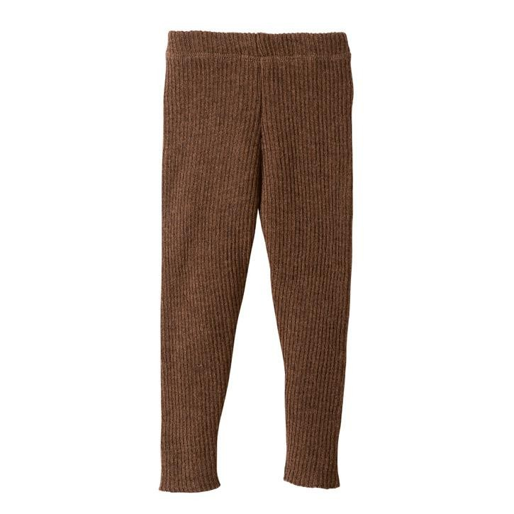 Disana Strick-Leggings 62/68 haselnuss Kollektion 18/19 100% bio-Schurwolle