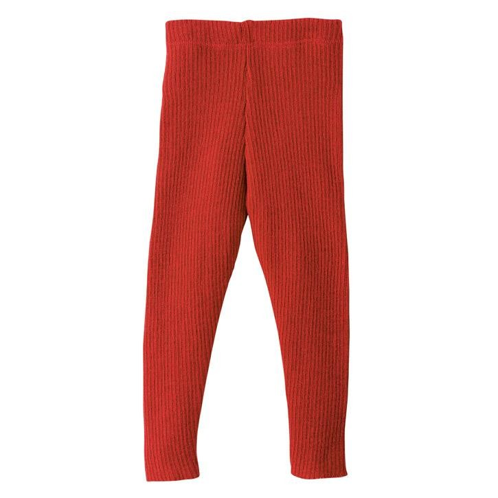 Disana Strick-Leggings 74/80 rot Kollektion 18/19 100% bio-Schurwolle