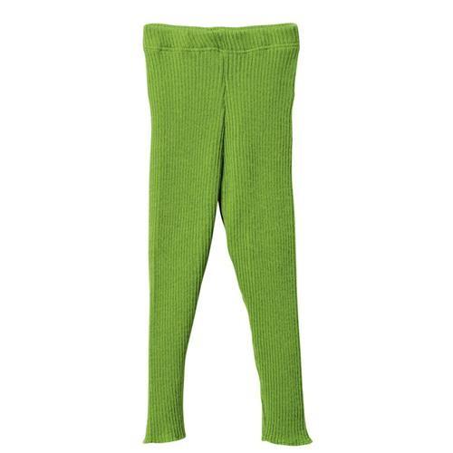 Disana Strick-Leggings grün 100% bio-Schurwolle