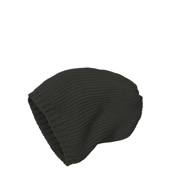 Disana Strick-Mütze anthrazit