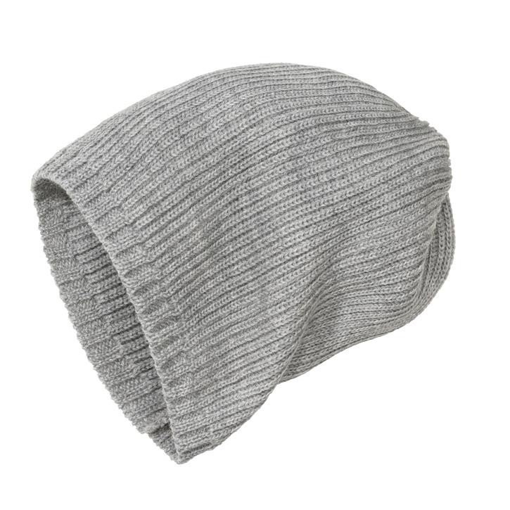 Disana Strick-Mütze grau