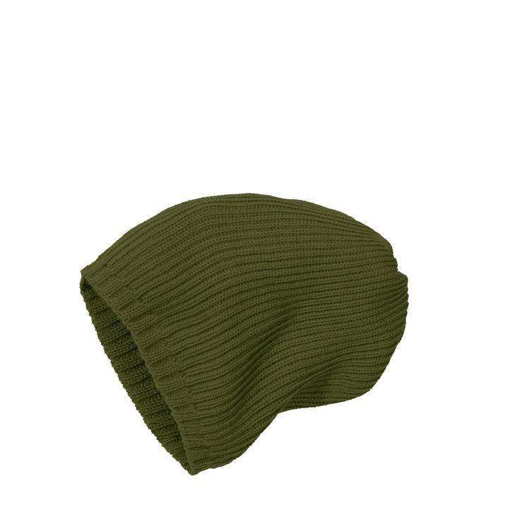 Disana Strick-Mütze olive