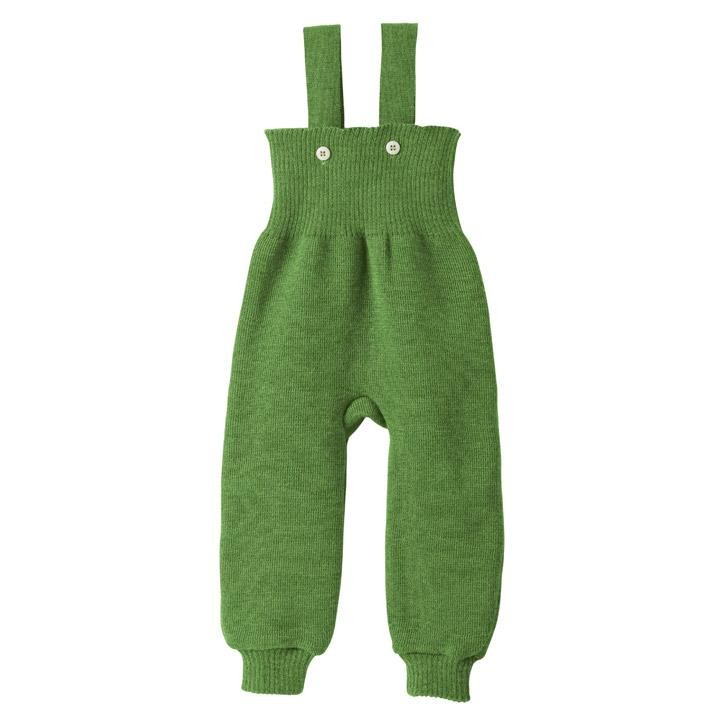Disana Strick-Trägerhose Kollektion 18/19 grün 100% bio-Schurwolle