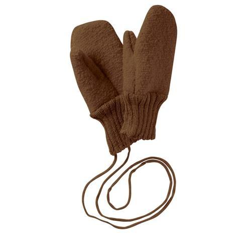 Disana Walk-Handschuhe 3 haselnuss 100% bio-Schurwolle
