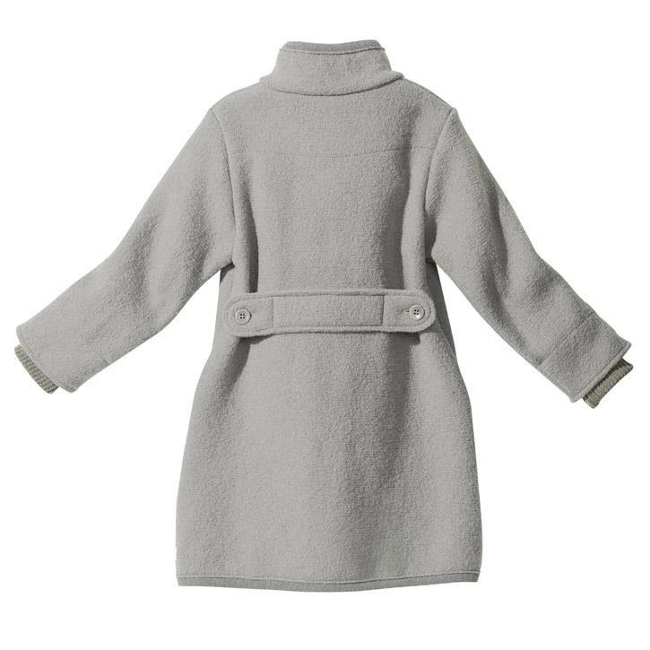 Disana Walk-Mantel Kollektion 18/19, grau 100% bio-Schurwolle/ Futter 100% bio-Baumwolle