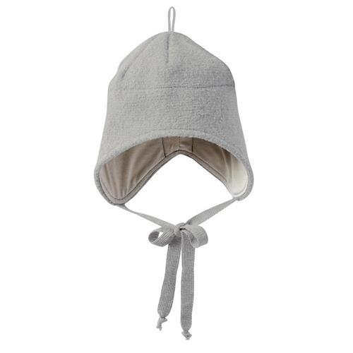 Disana Walk-Mütze 1 grau 100% bio-Schurwolle/ Futter 100% bio-Baumwolle