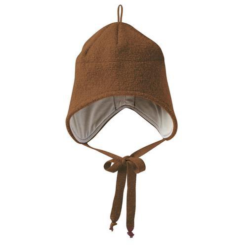 Disana Walk-Mütze 1 haselnuss 100% bio-Schurwolle/ Futter 100% bio-Baumwolle