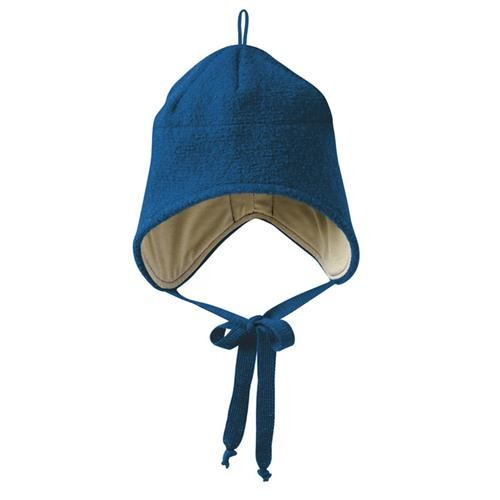 Disana Walk-Mütze 3 marine 100% bio-Schurwolle/ Futter 100% bio-Baumwolle
