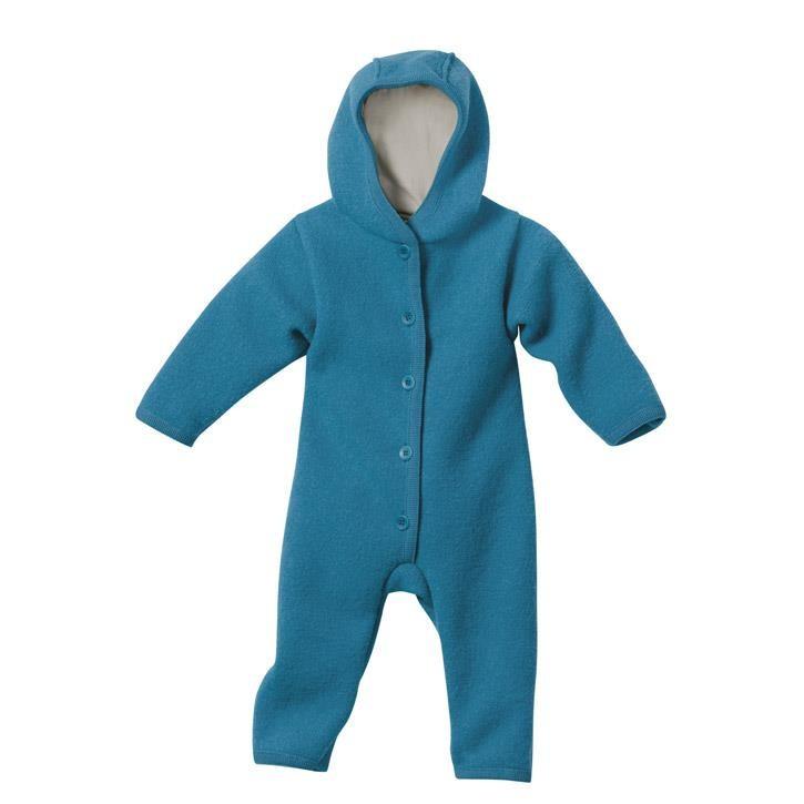 Disana Walk-Overall blau Kollektion 18/19 100% bio-Schurwolle/ Futter 100% bio-Baumwolle