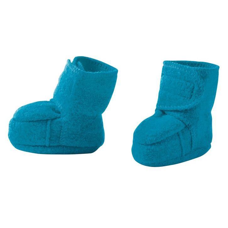 Disana Walk-Schuhe blau 100% kbT Schurwolle