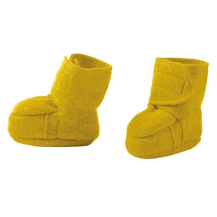 Disana Walk-Schuhe curry 100% kbT Schurwolle