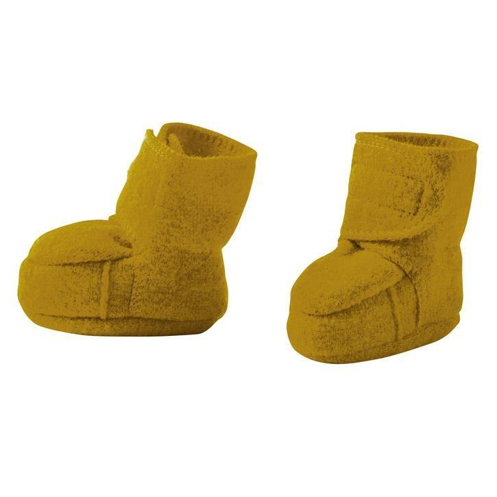 Disana Walk-Schuhe gold 100% kbT Schurwolle