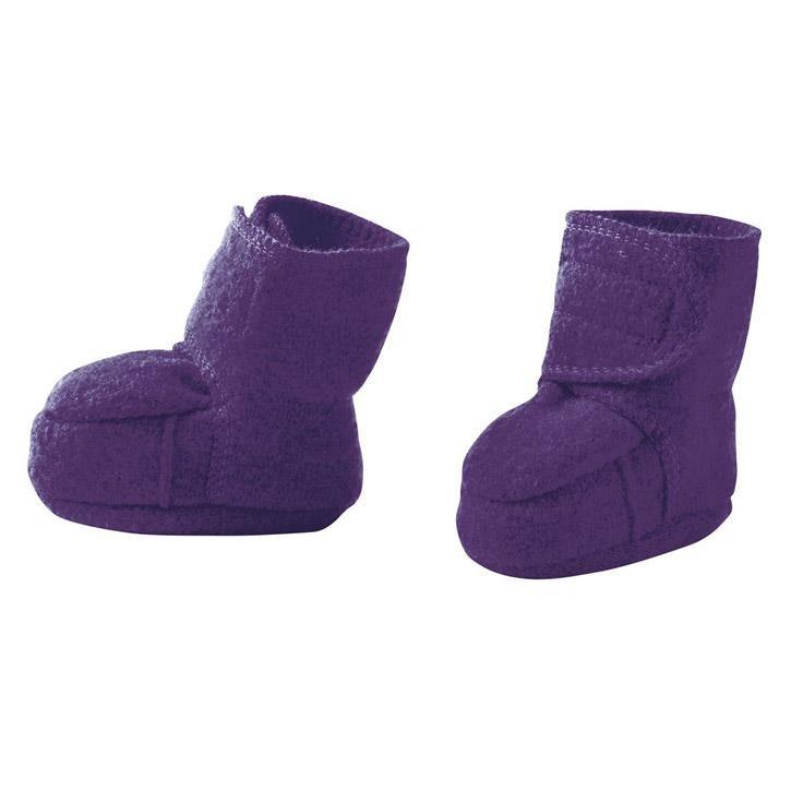 Disana Walk-Schuhe pflaume 100% kbT Schurwolle