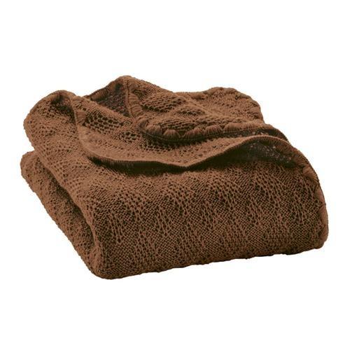 Disana Woll-Babydecke 100x80 cm haselnuss 100% bio-Schurwolle