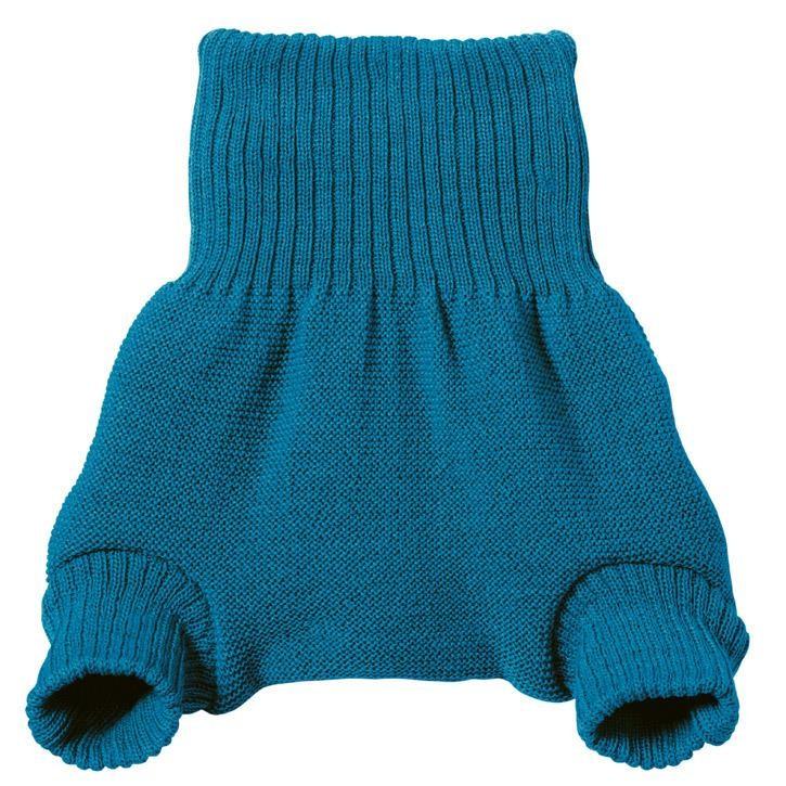 Disana Wollwindelhose  blau 74/80 100% bio-Schurwolle