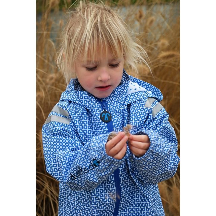 Ducksday rainjacket funky blue 98-104 04y