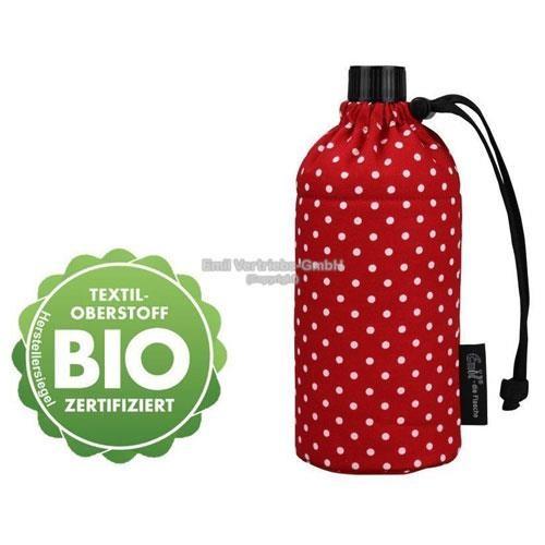 EMIL die Flasche, Design: BIO-Punkte Rot