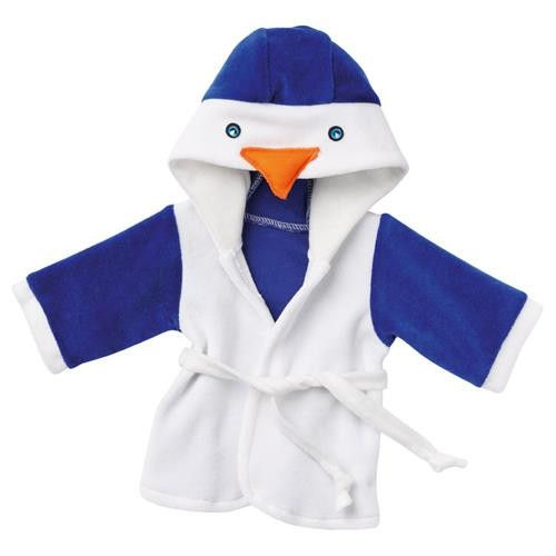 """Emil Schwenk Puppen Bademantel """"Pinguin"""", Gr. 32"""