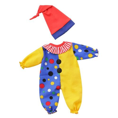 Emil Schwenk Puppen Clown-Kostüm