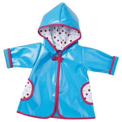 Emil Schwenk Puppen Regenmantel (blau)