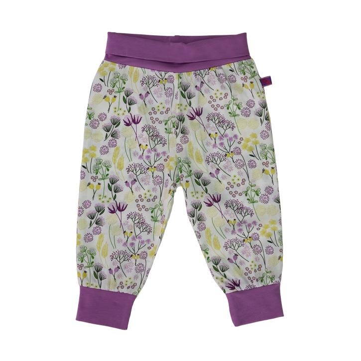 Enfant Terrible Babyhose Web zarte Blumen white-leaf-green