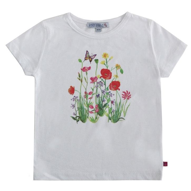 Enfant Terrible Shirt mit Blumendruck white