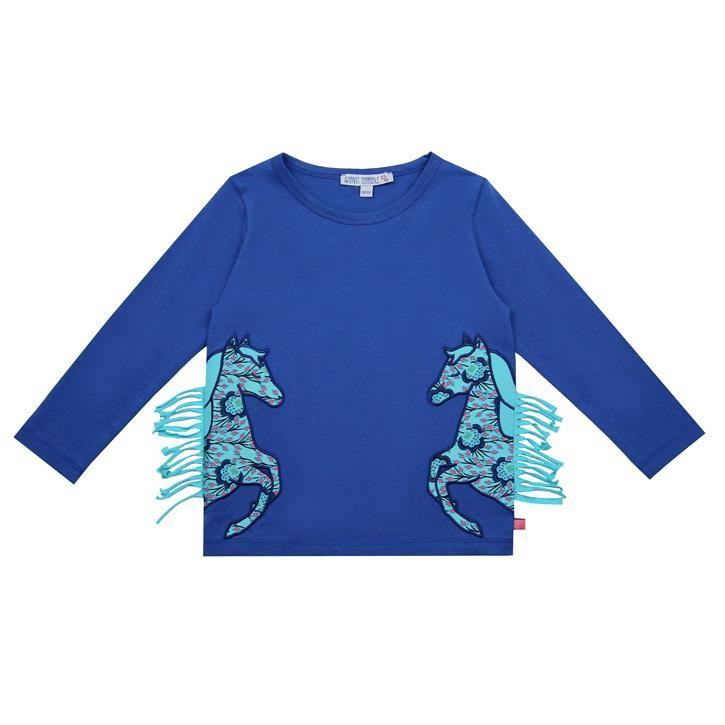 Enfant Terrible Shirt mit Pferden royal
